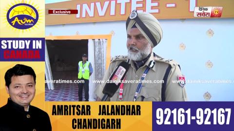 Exclusive Interview: IG Naunihal Singh से सुनिए कैसे Sultanpur Lodhi में Sangat को मिली हर Facility
