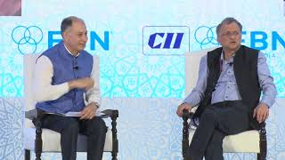 Dr Naushad Forbes at the 30th FBN Global Summit 2019 in Udaipur
