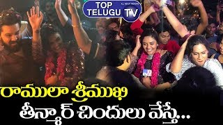 Sreemukhi Ramulamma Dance After Bigg Boss Telugu 3 Grand Final | Rahul Sipligunj | Top Telugu TV