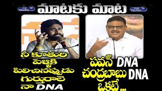 Pawan Kalyan Vs Ambati Rambabu Mataku Mata | AP Political News | JanaSena | YSRCP | Top Telugu TV