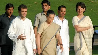 Gandhi family's SPG cover removed, to get 'Z+' security