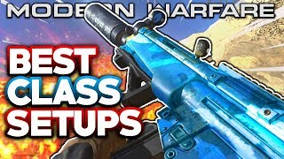 MODERN WARFARE BEST CLASS SETUPS (AR's) , BEST PERKS , MW BEST GUNS & MORE COD MODERN WARFARE