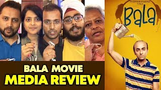 BALA Movie | MEDIA REVIEW | Ayushmann Khurrana, Bhumi Pednekar, Yami Gautam