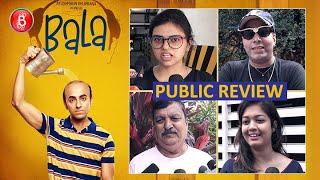 Bala Public Review | First Day First Show | Ayushmann Khurrana | Yami Gautam | Bhumi Pednekar