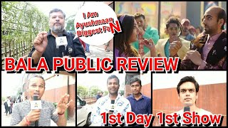 Bala Movie PUBLIC Review First Day First Show In Mumbai