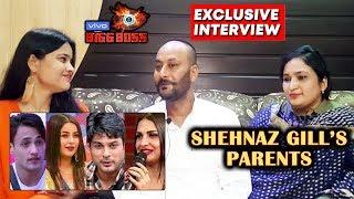 Bigg Boss 13 | Shehnaz Gill's Parents Exclusive Interview | Siddharth Shukla, Asim, Himanshi | BB 13