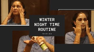 Winter Night Time Routine for Dry Skin | Easy & Intense Weekend Pamper|Oils & Lotion | Nidhi Katiyar