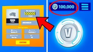 Using FREE V-BUCKS Generator Websites to get FREE V BUCKS in Fortnite Battle Royale