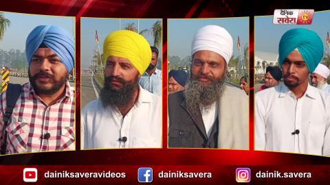Dera Baba Nanak से दूसरे दिन उत्साह के साथ Kartarpur Sahib के लिए रवाना हुआ Sikh Jatha