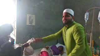 Syed mohammed sarfaraz mehedvi Shab Hospital distribute Fruits in poor peoples govt hosp & New age