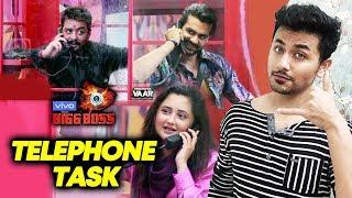 Bigg Boss 13 | Telephone Nomination Task | Kaun Hoga Nominate? | BB 13