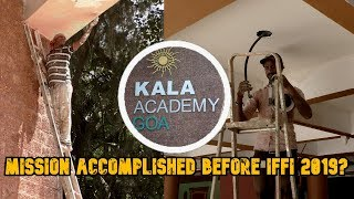 Will Renovation Of Kala Academy Be Mission Accomplished Before IFFI? Gaude Tells All