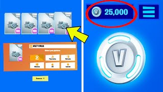 Using FREE V-BUCKS Generator Websites to get FREE VBUCKS in Fortnite Battle Royale