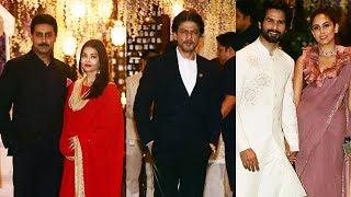 Shahrukh Khan, Shahid Kapoor, Aishwarya At Mukesh Ambani's Niece's Pre-Wedding Bash