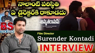 Film Director Surender Kontaddi Interview | BS Talk Show | Amrutha Ramam Movie | Top Telugu TV