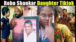 Singapenney Robo Shankar Daughter Tiktok Collection | Indraja Shankar