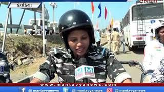 Kevadiya: રાષ્ટ્રીય એકતા પરેડમાં બાઈક પર CRPFની મહિલા જવાનોએ દેખાડ્યું શૌર્ય