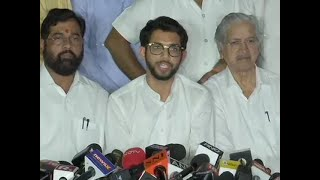 Maha govt formation: Guv refused to give us more time, talks with Cong-NCP on, says Aaditya
