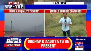 Delhi's air quality index marks severe, stubble burning continues despite SC verdict