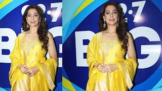 Juhi Chawla Attend BIG FM 92.7 #Igifteyesight Campaign