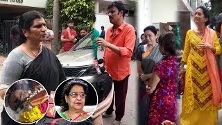 Celebrities Pay Homage To Geetanjali   Actress Geetanjali Passed Away