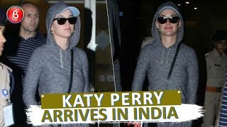 Katy Perry Arrives In India With Full Fanfare