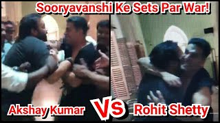 Akshay Kumar Had A Fight With Rohit Shetty And Katrina Kaif Recorded The Video On Sooryavanshi Sets