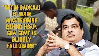 """Nitin Gadkari Is Main Mastermind Behind HSRP, Govt Blindly Following"" - Number Plate Artisans"
