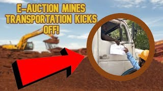 E-Auction Mines Transportation Commences From Codli To Amona