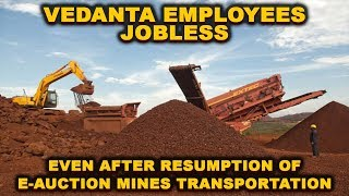 Vedanta Employees Jobless Even After Resumption Of E-Auction Mines Transportation