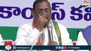 Economic Crisis: RC Khuntia addresses media in Hyderabad, Telangana