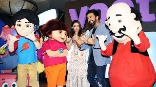 Soha Ali Khan And Ashish Chaudhary At Kids Digital App VOOT Kids Launch