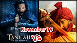 Tanhaji Trailer To Release On November 19, Makers Revealed The Date With Saif Ali Khan Poster