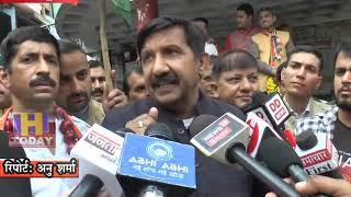 12 NOV N 1 हमीरपुर में जिला कांग्रेस कमेटी ने प्रदेश सरकार के खिलाफ रैली निकाल कर खूब हल्ला बोला।