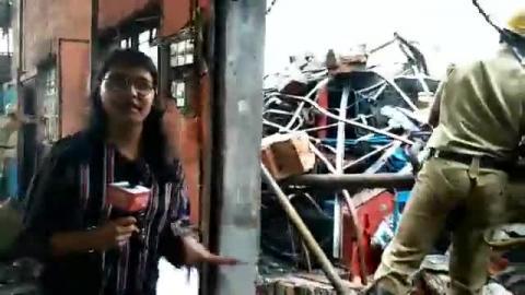 सिलीगुड़ी: एक फैक्ट्री में लगी भयानक आग