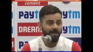 Virat kohli briefs media ahead of Bangladesh test series