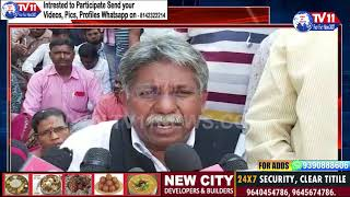 MANDA KRISHNA MADIGA SUPPORT TO RTC STRIKE