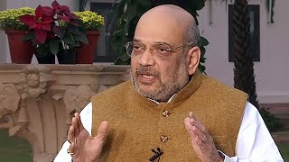 'Approach Maharashtra Governor if you have numbers': Amit Shah to opposition parties