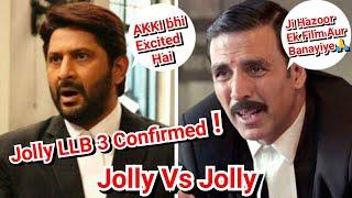 Jolly Vs Jolly Will Definitely Happening In Jolly LLB 3 Movie Confirms Arshad Warsi
