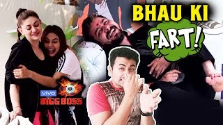 Bigg Boss 13 | Hindustani Bhau FARTS In Front Of Girls | Hilarious Moment | BB 13
