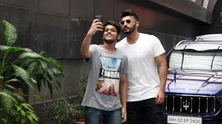 Arjun Kapoor Spotted Body Sculptor Gym At khar | PANIPAT