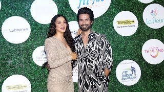 Kabir Singh Jodi Shahid kapoor And Kiara Advani At Global Spa Fit And Fab Awards 2019