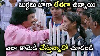 బుగ్గలు బాగా లేతగా ఉన్నాయి ఎలా కామెడీ చేస్తున్నాడో | Uthama Villain Movie Scenes | Kamal Hassan