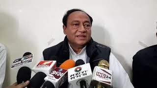 मुख्यमंत्री कमलनाथ मजबूर नहीं, मजबूत बनकर काम करें : दिग्विजय के भाई लक्ष्मण सिंह