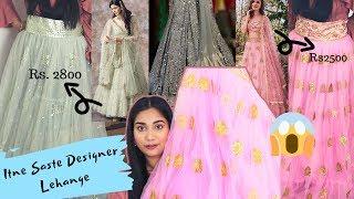Amazon & Chandni Chowk Se saste designer lehanga online Rs. 2500 only ???? | Nidhi Katiyar
