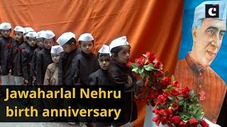 Manmohan Singh, Sonia Gandhi pay tribute to Jawaharlal Nehru on his birth anniversary
