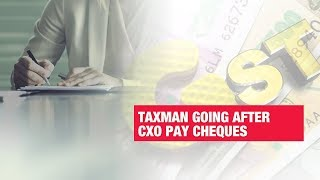 Tax department going after CXO pay cheques | Economic Times