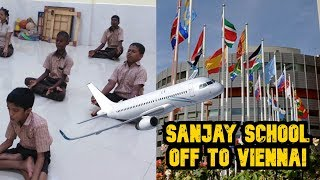 Sanjay School Gets UN Nod To Fly To Austria!