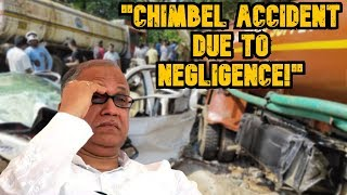 """Chimbel Accident Due To Negligence Of Government & Contractors Engaged In Road Works"" - Digambar"