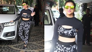 Stunning Parineeti Chopra Spotted At Khar Gymkhana | Take A Look